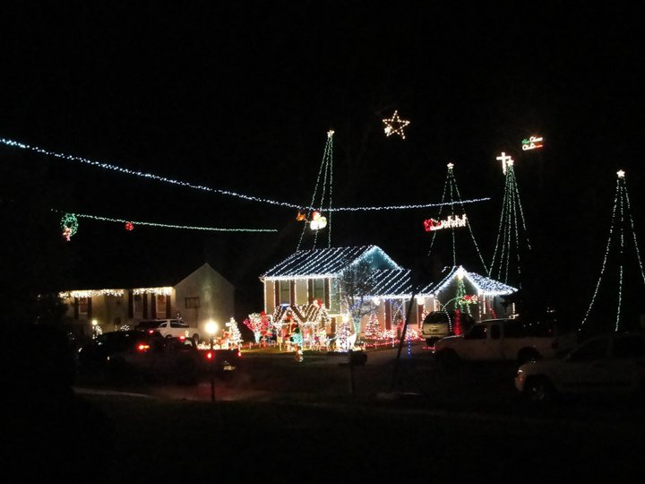 vogt house on harrogate way in abingdon - Where To Go See Christmas Lights