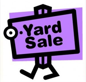 Yard sales Sept. 15