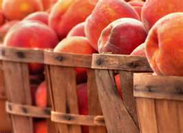 Homegrown peaches are now available at Wilson's Farm Market, enjoy them while they're in season