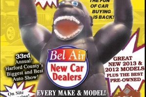Bel Air New Car Dealers Annual Labor Day Weekend Sale starts Thursday at the Festival at Bel Air Shopping Center