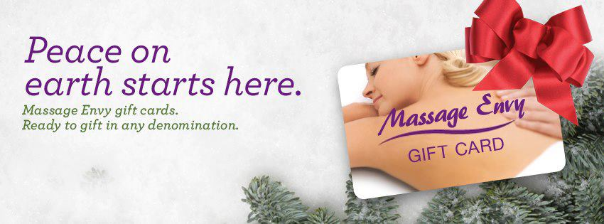 get a special deal on massage envy gift cards this holiday season - Christmas Gift Card Deals