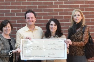 Emmorton Elementary School donates $1,450 to the Center for the Arts