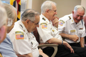 "Korean War veterans visit Bel Air library as part of ""Forgotten War"" exhibition"