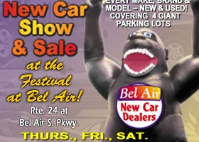 34th annual Bel Air New Car Dealers Labor Day Weekend New Car Show & Sale returns to Festival at Bel Air Aug. 29 through Sept. 2