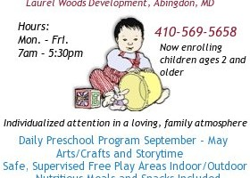 A Step Ahead Family Daycare in Abingdon is now enrolling children ages 2 and older