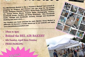 The Whitehouse Market returns to downtown Bel Air Oct. 27