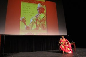 Author King Peggy attracts an audience of more than 200 for her talk at Harford Community College