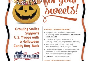 Growing Smiles pediatric dentist to buy back children's candy Nov. 2 to send it to U.S. Troops