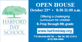 Come see all that Harford Day School has to offer at its Open House Oct. 23