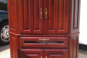 Classified Ads: Solid cherry and oak entertainment centers for sale