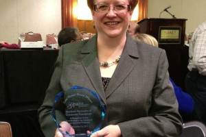 Community Foundation of Harford County Executive Director Tamara Zavislan receives Pioneer Award