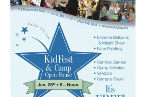 Harford Day School hosts KidFest & Camp Open House Jan. 25