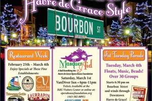 Havre de Grace celebrates Restaurant Week and Mardi Gras