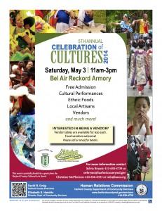 Celebration of Cultures flyer 2014
