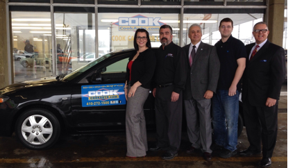Army vet wins sarc car raffle to benefit the phelan for Cook motors aberdeen md