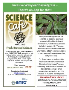 Science Cafe flyer 13May2014