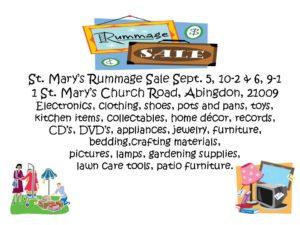 Rummags Sale 2014