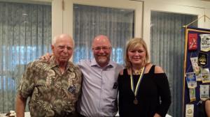 Left to right: David Gilbert, Gary Stokes, and Deborah S. Williams.