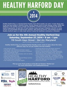 Healthy Harford Day 2014 Flyer