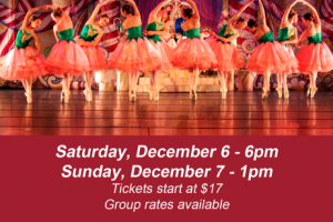 Harford Ballet Company to perform The Nutcracker Dec. 6 and 7 at Edgewood High School