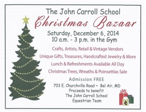 JC 2014 Christmas Bazaar flyer- corrected