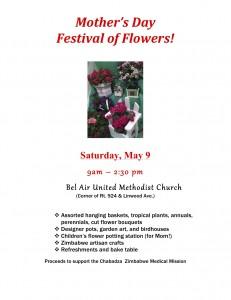 Flower Mart Flier