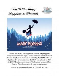 mary poppins tea flyer 2