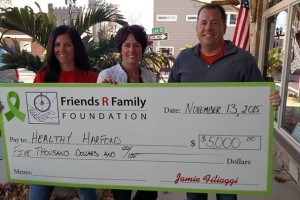 Healthy Harford receives grant from Friends R Family Foundation for suicide prevention