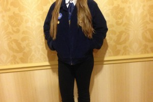 North Harford High Student places first in nation in FFA Dairy Cattle Handlers' Event