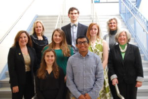Top center:  Will Bolton Middle row, left to right:  Madelyn Miller, Emily Godwin Bottom row, left to right:  Sophia Ames, Kishan Patel Not pictured:  Caroline Hickman