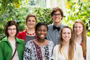 Six Bel Air High School Biomed students presented their class projects at congressional reception in D.C.