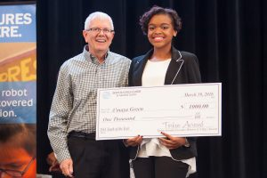 Boys & Girls Clubs of Harford County names Havre de Grace High School's A'maya Green 2016 Youth of the Year
