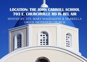 Sts. Mary Magdalene & Markella Greek Orthodox Church's Greek Festival comes to The John Carroll School June 3, 4 & 5
