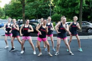 TwirlTasTix Baton and Relevé peforms for Brightview residents, will perform pre-competition show at First Presbyterian Church in Bel Air July 20