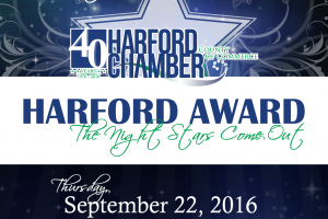 Harford County Chamber of Commerce is hosting its 25th annual Harford Award reception Sept. 22
