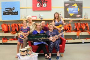 Harford County Public Library makes musical instruments available for children and young adults to borrow