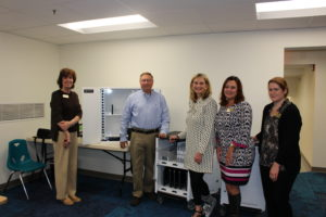Street's ICR, Inc. donates carts that recharge digital devices to Bel Air Library