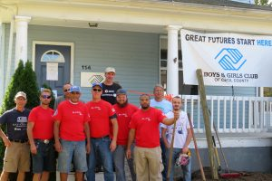 Habitat for Humanity Susquehanna and Lowe's build ramp Boys and Girls Club of Cecil County