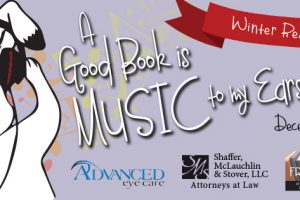 "Harford County Public Library's 2017 Winter Reading Program ""A Good Book is Music to My Ears"" continues through March 4"