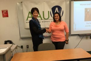 AAUW awards scholarships to three Harford Community College women