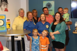 Fallston library celebrates its new teen room in memory of Kurt M. Chenowith